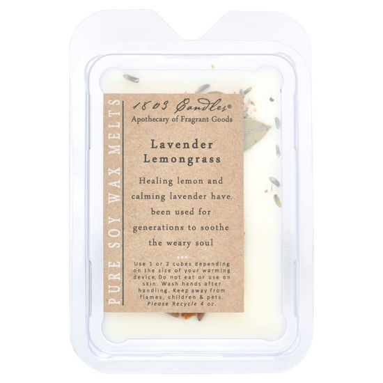 Lavender Lemongrass Melters by 1803 Candles