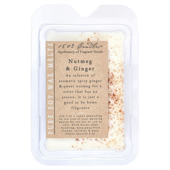 Nutmeg & Ginger Melters by 1803 Candles
