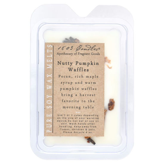 Nutty Pumpkin Waffles Melters by 1803 Candles