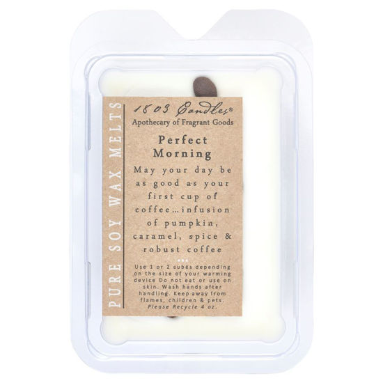 Perfect Morning Melters by 1803 Candles
