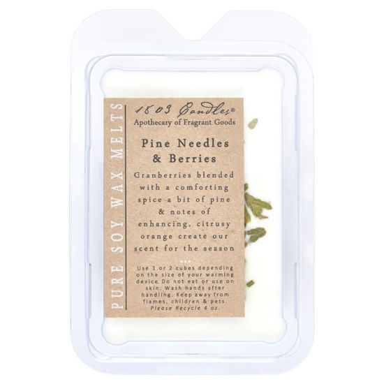 Pine Needles & Berries Melters by 1803 Candles