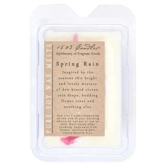 Spring Rain Melters by 1803 Candles