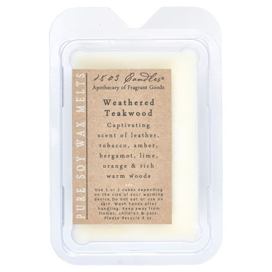 Weathered Teakwood Melters by 1803 Candles
