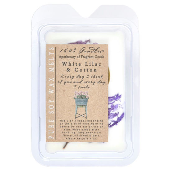 White Lilac & Cotton Melter by 1803 Candles