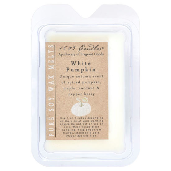 White Pumpkin Melters by 1803 Candles