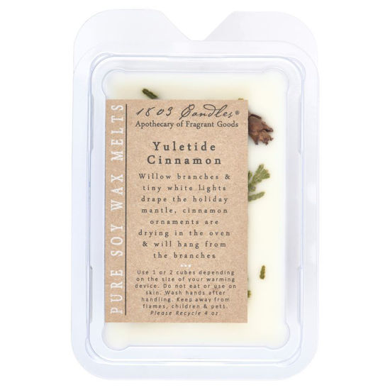 Yuletide Cinnamon Melters by 1803 Candles