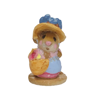 Mini Miss Mouse with Hat M-002m By Wee Forest Folk®