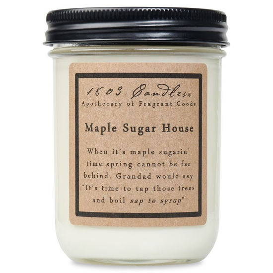 Maple Sugar House Jar by 1803 Candles