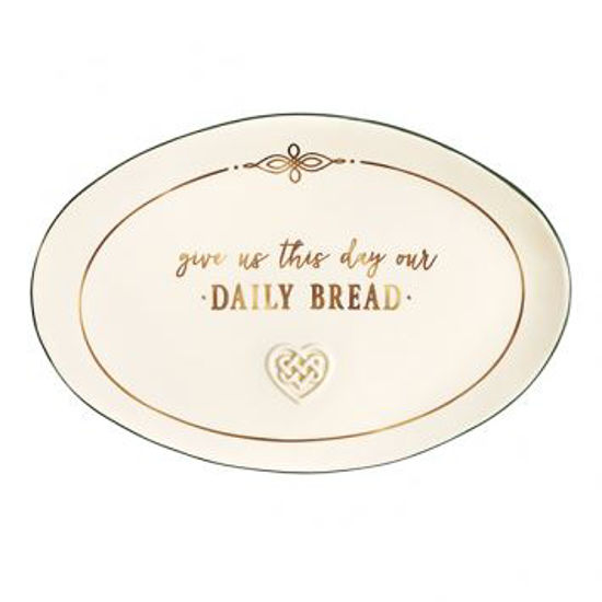 Give Us This Day Bread Plate by Grasslands Road