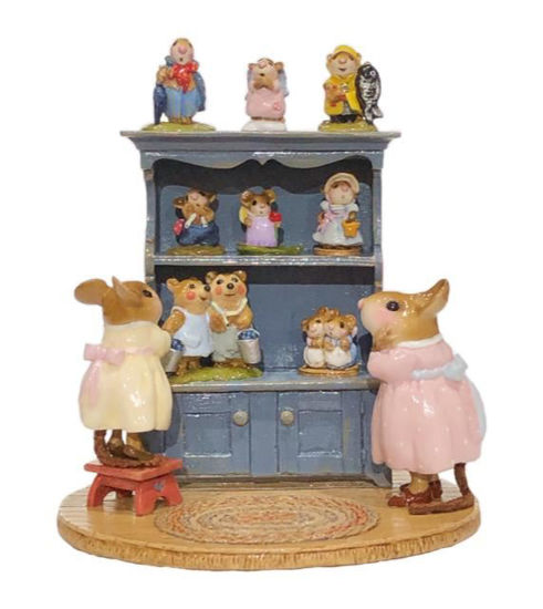 Annette's Birthday Curio Cabinet #03 M-674 By Wee Forest Folk®