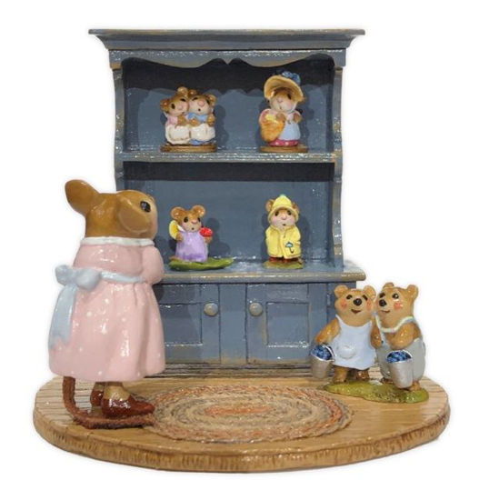 Annette's Birthday Curio Cabinet #06 M-674 By Wee Forest Folk®