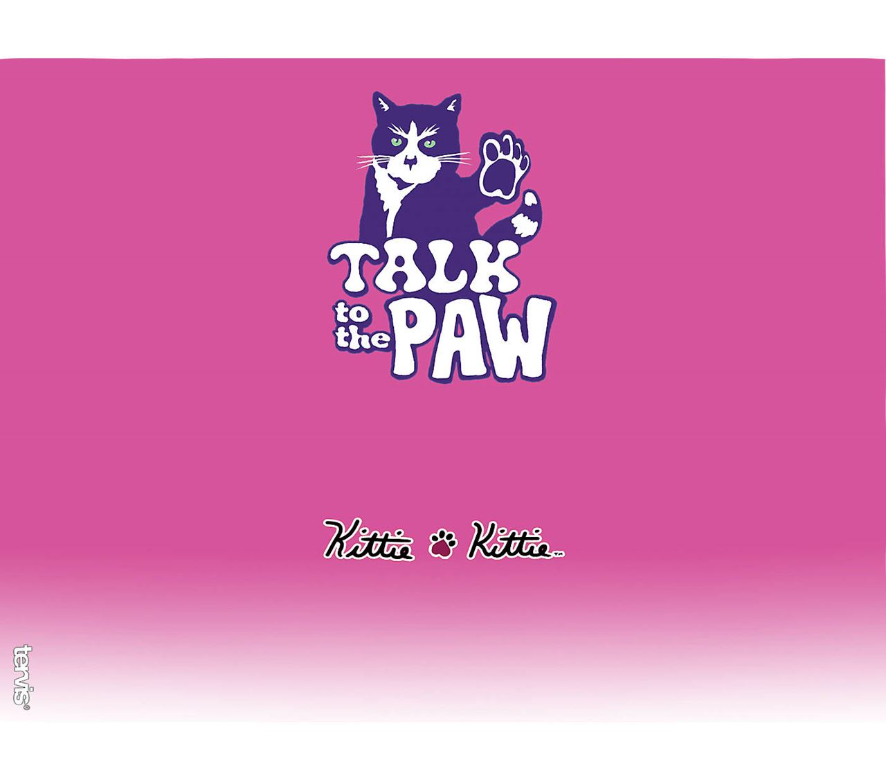 Kittie Talk to the Paw 24oz. Tumbler by Tervis