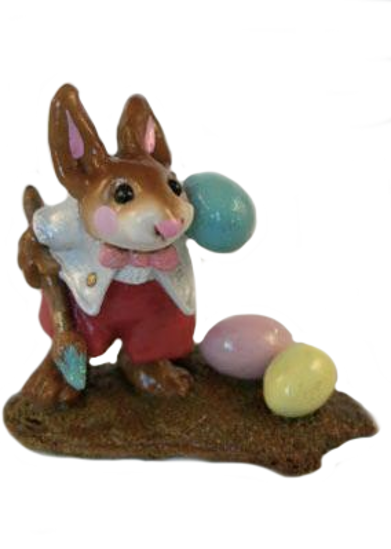 Busy Bunny (Blue) B-14 by Wee Forest Folk®