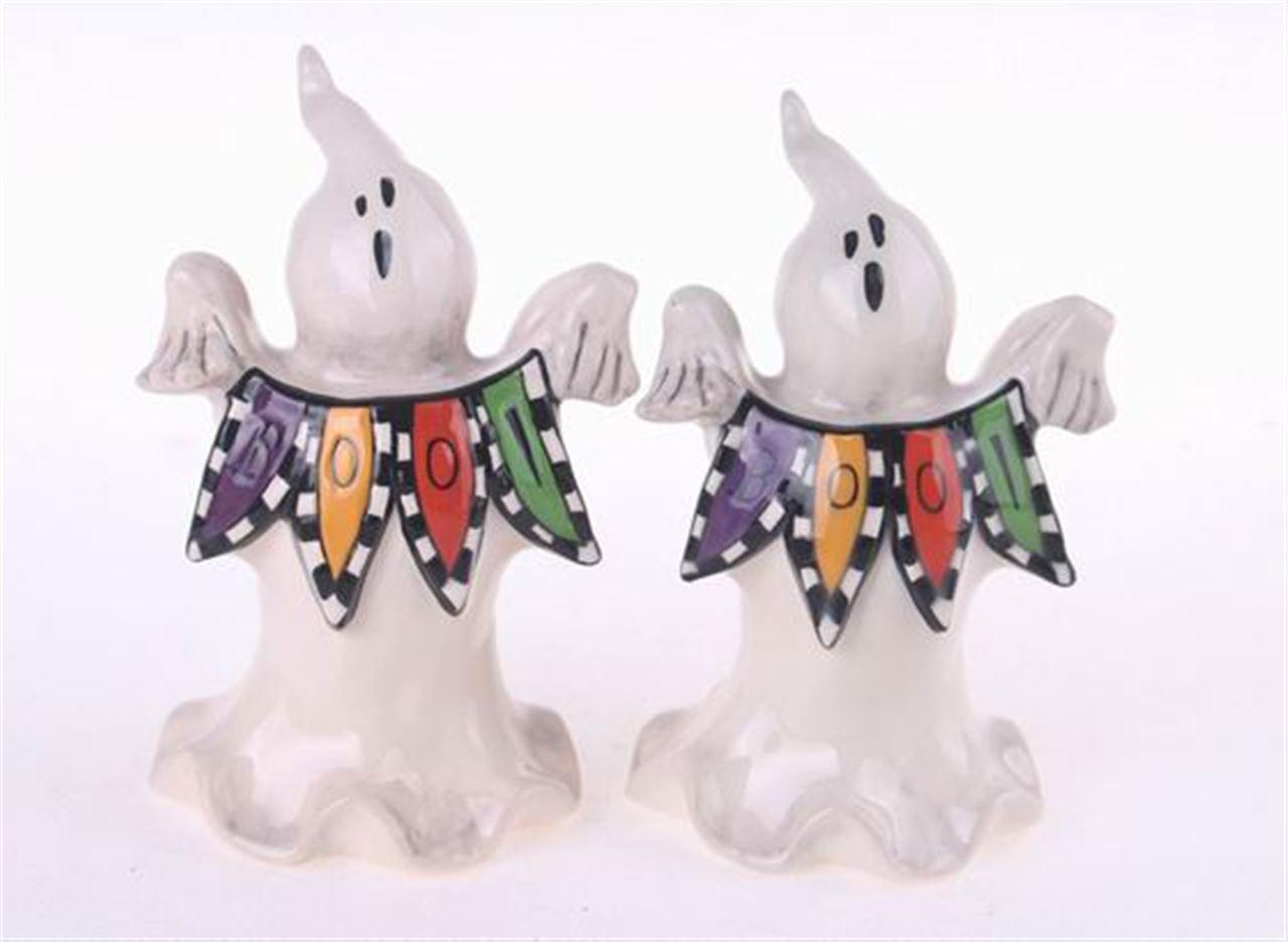 Boo Ghost Salt & Pepper Set by Blue Sky Clayworks