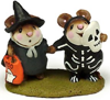 Littlest Witch & Skeleton M-155 by Wee Forest Folk®