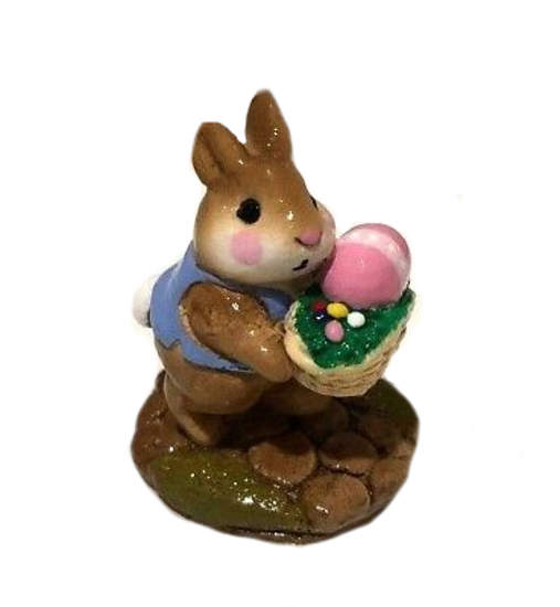 Tiny Easter Bunny B-12 by Wee Forest Folk®