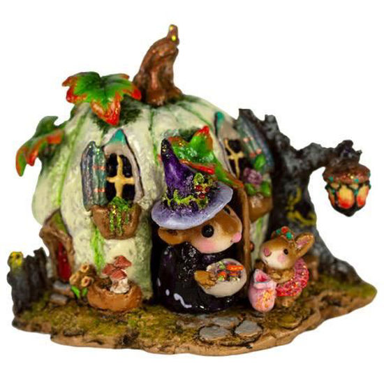 Wee Halloween Bungalow M-619a by Wee Forest Folk
