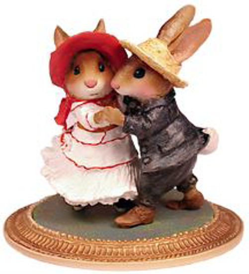 Rabbits Dancing MU-03 by Wee Forest Folk®