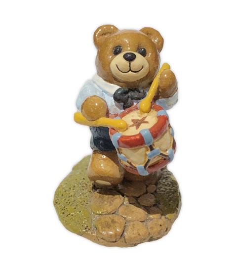 Drummer Bear T-04 by Wee Forest Folk®