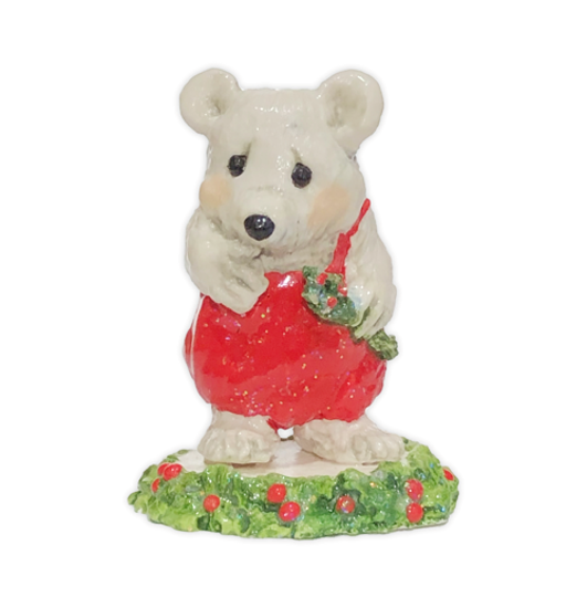 Polar Bear - Red (Employee Gift) EG#9 by Wee Forest Folk®