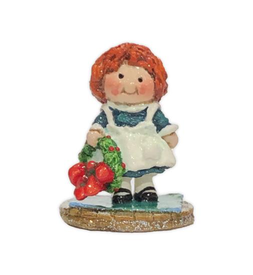 Raggedy Ann - Green (Employee Gift) EG#11 by Wee Forest Folk®