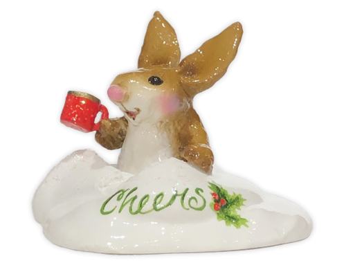 Winter's Hare (Employee Gift) EG#22 by Wee Forest Folk®
