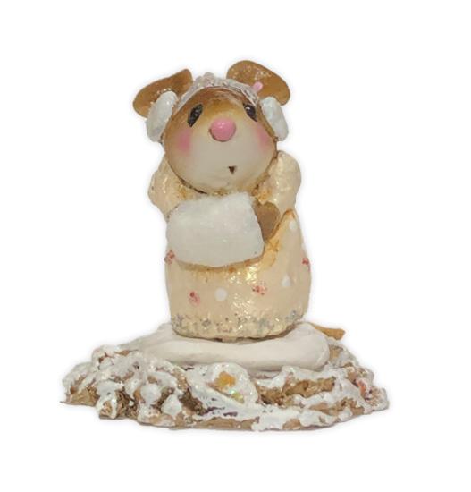 Little Missy Winter - Yellow (Employee Gift) EG#24 by Wee Forest Folk®