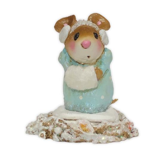 Little Missy Winter - Blue (Employee Gift) EG#25 by Wee Forest Folk®