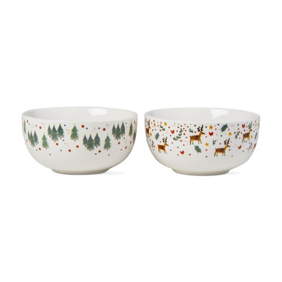 Whimsy Holiday Bowl by TAG
