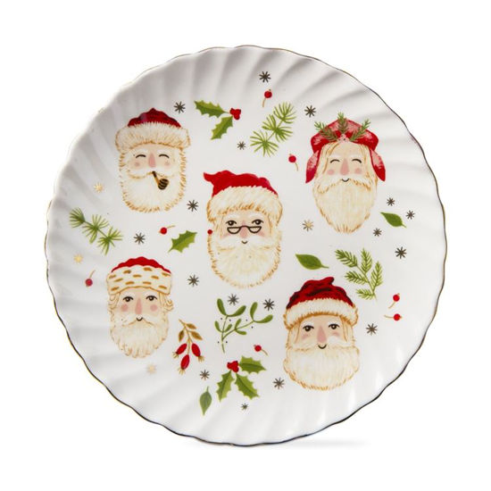 Merry Santa Appetizer Plate by TAG