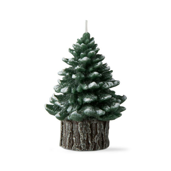 Spruce Small Rustic Tree Candle by TAG