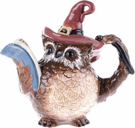 Witch Owl Teapot by Blue Sky Clayworks