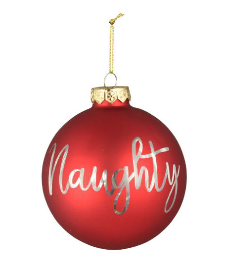 Naughty or Nice Ornament by Bethany Lowe Designs