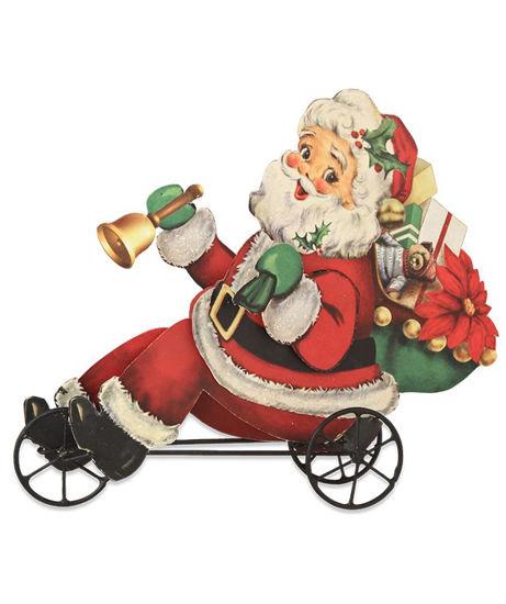 Santa on Trike by Bethany Lowe
