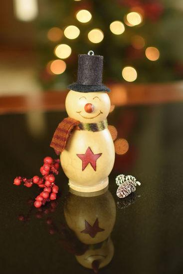 Lil Kolden Snowman by Meadowbrooke Gourds