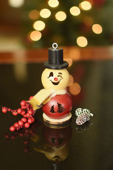 Lil Philip Snowman Short by Meadowbrooke Gourds