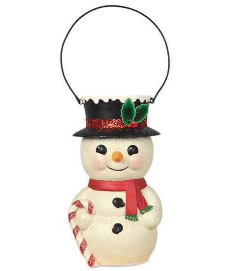 Snowman Bucket Head by Bethany Lowe Designs