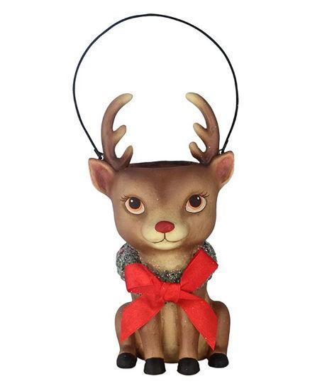 Reindeer Bucket Head by Bethany Lowe Designs