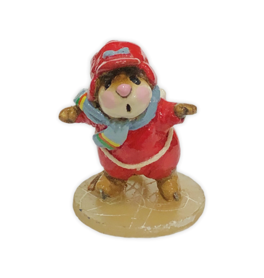 Skater Mouse MS-08 Red by Wee Forest Folk®