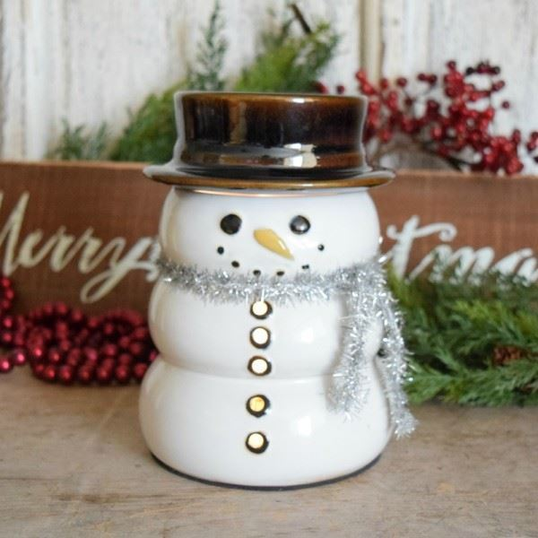 Snowman Electric Wax Warmer with Star by 1803 Candles