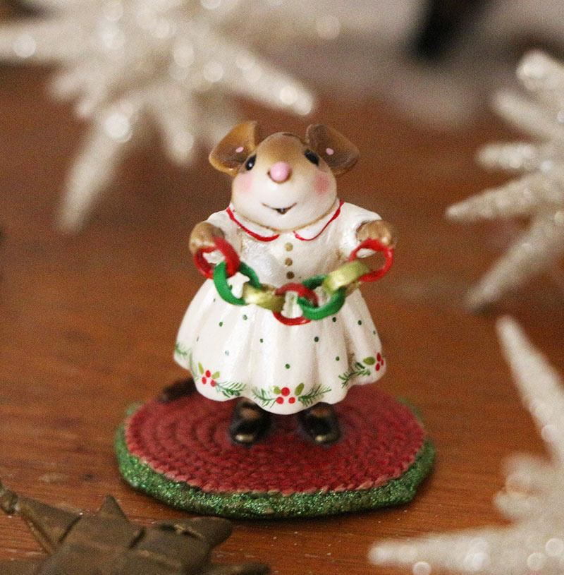 Christmas Crafter M-631 by Wee Forest Folk