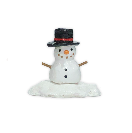 Tiny Snowman Accessory 005 by Wee Forest Folk®