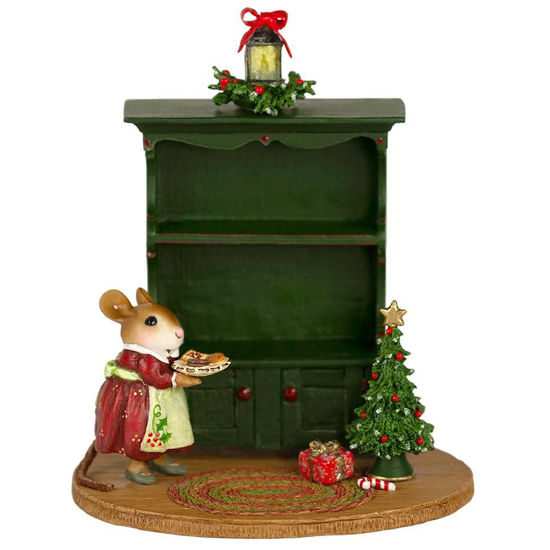 Christmas Curio M-674d Empty By Wee Forest Folk®