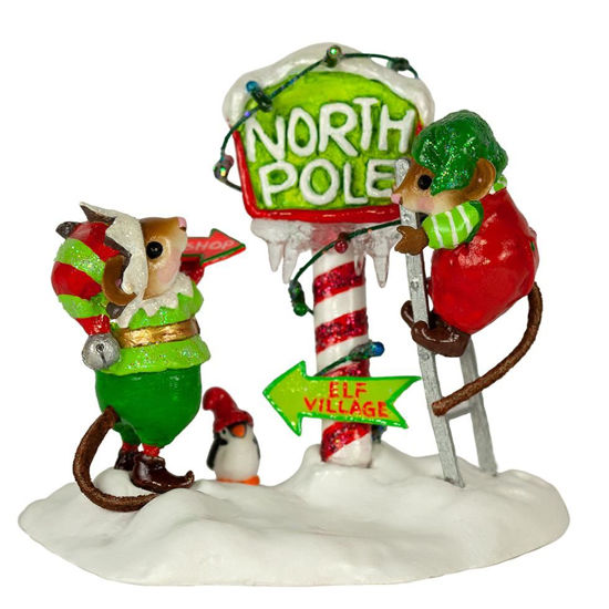 North Pole Elves M-550a by Wee Forest Folk