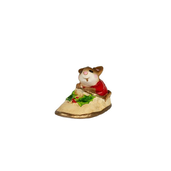 Mini Chris-Mouse Slipper M-166m By Wee Forest Folk®