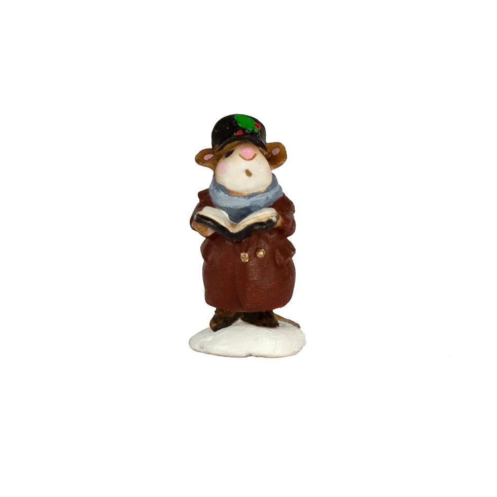 Mini Lone Caroler M-064m By Wee Forest Folk®