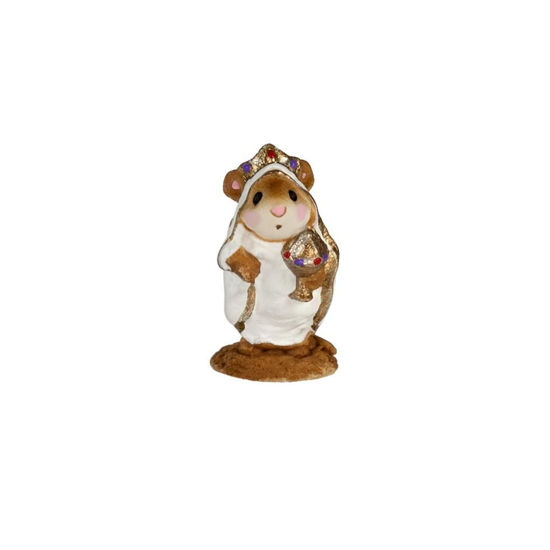 Mini Wise Man In Robe M-121bm By Wee Forest Folk®