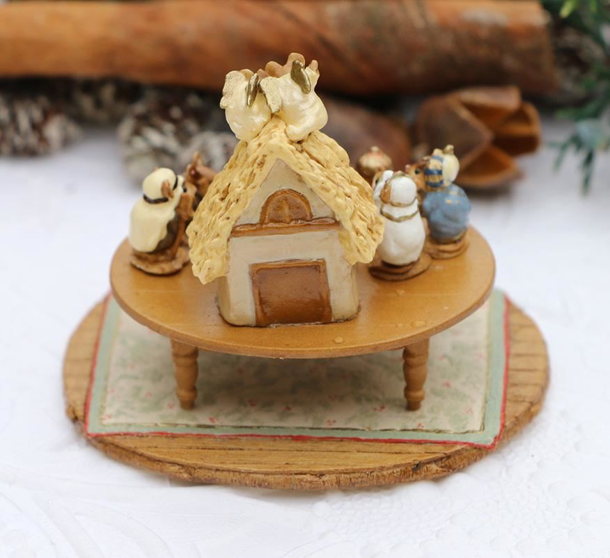 Chris-Mouse Pageant in Miniature A-57 by Wee Forest Folk