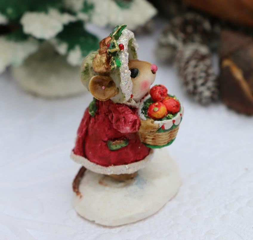 Just For Yule! (Red) M-685 by Wee Forest Folk
