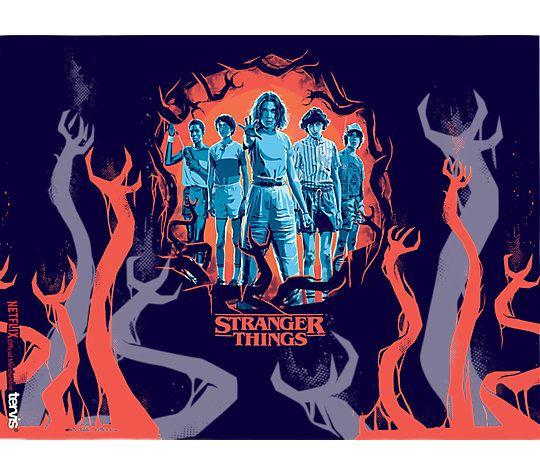 Stranger Things Uprising Wrap 24oz. Tumbler by Tervis